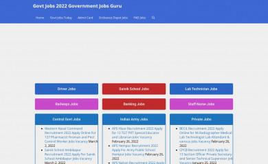 governmentjobs.guru screenshot