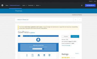 http://govpress.org screenshot