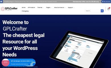 gplcrafter.com screenshot