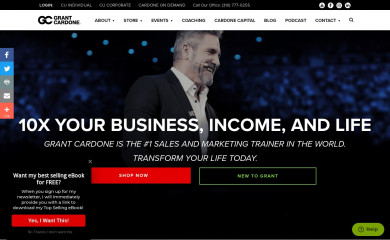grantcardone.com screenshot