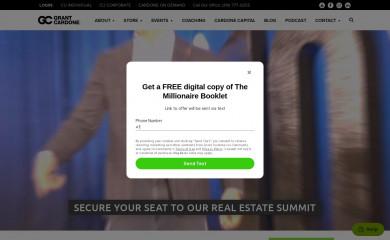grantcardone.com screenshot