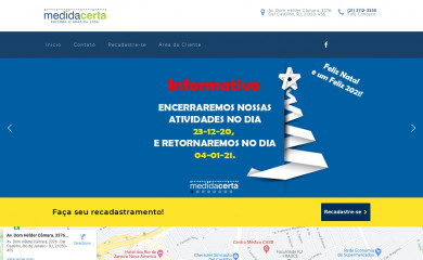 http://graficamedidacerta.com.br screenshot