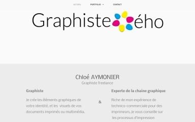 http://graphiste-eho.com screenshot