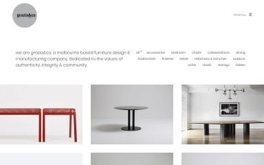 graziaandco.com.au screenshot