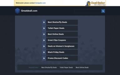 http://greatdeall.com screenshot