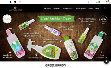 http://greenbrrew.com screenshot