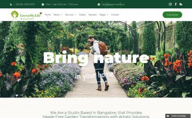 greenmylife.in screenshot