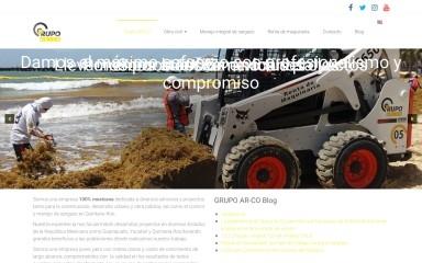 grupoarcomexico.com screenshot