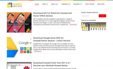 http://huaweiadvices.com screenshot