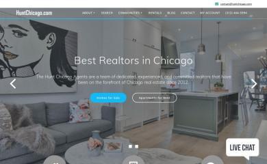 huntchicago.com screenshot
