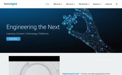 hurix.com screenshot