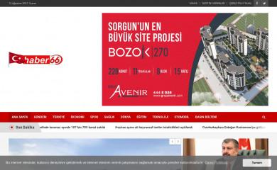 haber66.com.tr screenshot