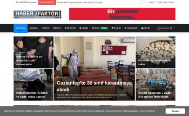 haberfaktor.com screenshot