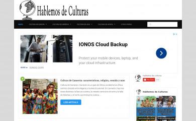 hablemosdeculturas.com screenshot