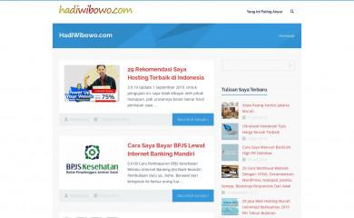 hadiwibowo.com screenshot