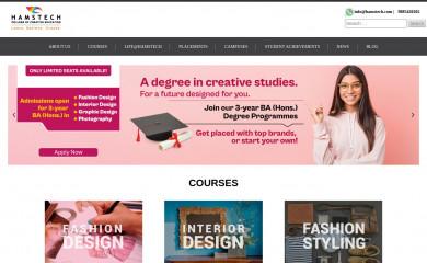 hamstech.com screenshot