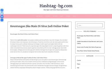 hashtag-bg.com screenshot