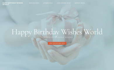 http://happybirthdaywishesworld.com screenshot