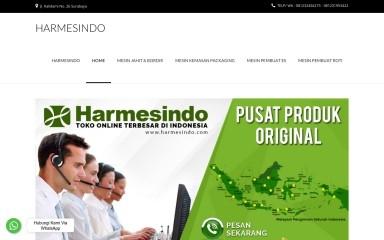 http://harmesindo.com screenshot