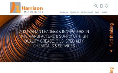 harrisonmanufacturing.com.au screenshot