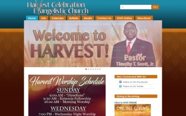 http://harvestcelebration.org screenshot