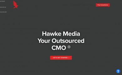 hawkemedia.com screenshot