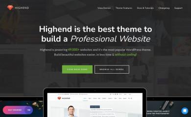 https://www.hb-themes.com/themes/highend/ screenshot