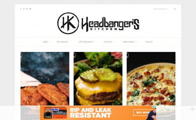 http://headbangerskitchen.com screenshot