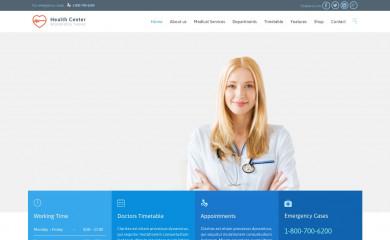 http://health-center.vamtam.com screenshot