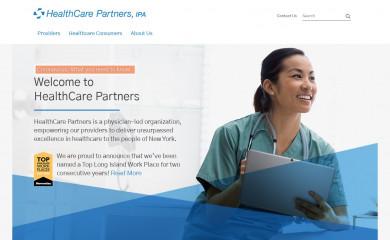 healthcarepartnersny.com screenshot