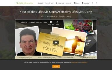 healthylifestylesliving.com screenshot