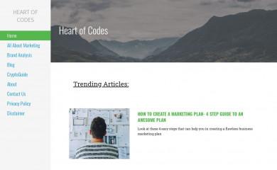 heartofcodes.com screenshot
