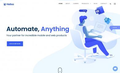 helixo.co screenshot