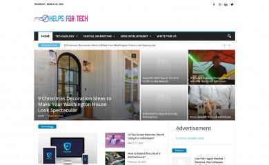 helpsfortech.com screenshot