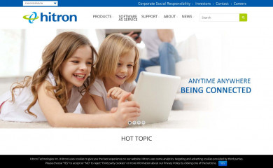 http://hitrontech.com screenshot
