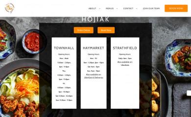 hojiak.com.au screenshot