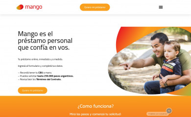 http://holamango.com screenshot