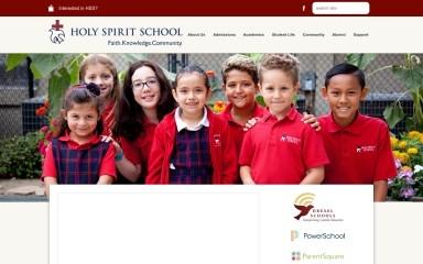 http://holyspirit-school.org screenshot