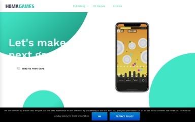 http://homagames.com screenshot