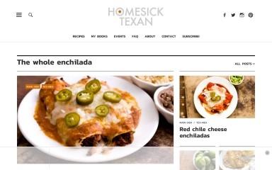 http://homesicktexan.com screenshot