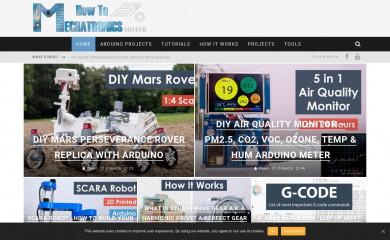 http://howtomechatronics.com screenshot
