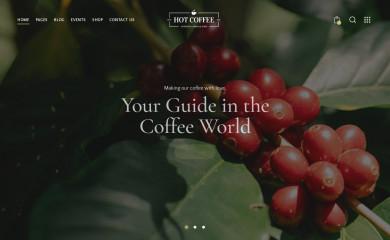 http://hotcoffee.themerex.net/ screenshot