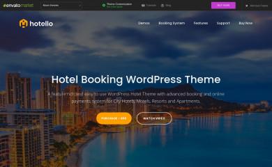 Hotello screenshot