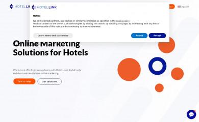 hotellinksolutions.com screenshot
