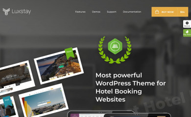 Hotel WP screenshot