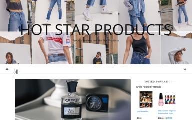 http://hotstarproducts.com screenshot