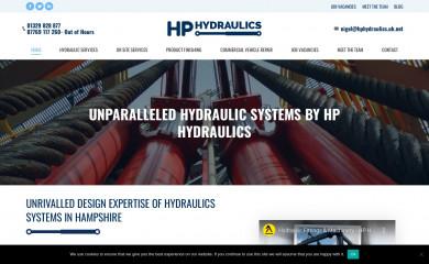 hphydraulics.co.uk screenshot