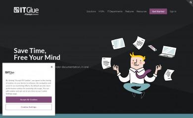 itglue.com screenshot