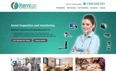 itemise.com.au screenshot
