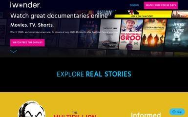 http://iwonder.com screenshot